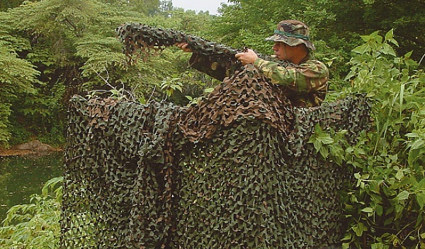filet camouflage airsoft